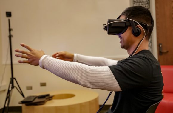 Becoming Alfred with VR